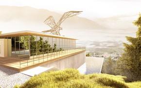 Картинка горы, дизайн, дом, neuberger welten, bergstation