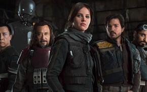 Обои Rebels, Rogue One: A Star Wars Story, Jyn Erso
