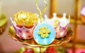Картинка украшение, десерт, выпечка, капкейки