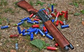 Картинка оружие, weapon, shotgun, Дробовик, Remington, Ремингтон, Model 11, Обрез, Модель 11, sawn-off shotgun