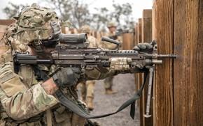 Обои армия, солдат, оружие