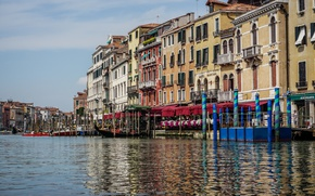 Картинка water, grand, italy, body, venice, province, grand canal, canal