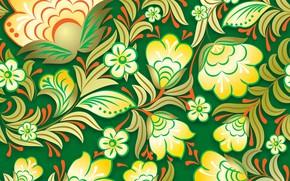Картинка Цветы, паттерн, pattern, seamless, Floral, бесшовный