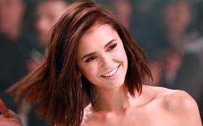 Обои pretty, Vampire Diaries, actress, model, bishojo, girl, woman, bulgarian-canadian, The Vampire Diaries, Nikolina Konstantinova Dobreva, ...