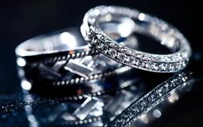 Картинка rings, jewelry, crystals, diamonds