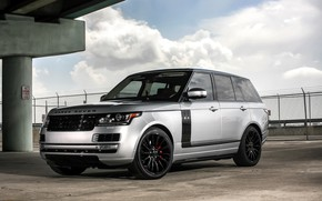 Картинка Range Rover, with, color, Autobiography, exterior, trim, matched