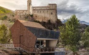 Картинка дизайн, замок, строение, YAC Competition, Particula Observatory Houses