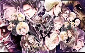 Картинка sword, game, anime, key, ken, blade, giant, manga, japanese, Shingeki no Kyojin, survivors, kyojin, Attack …