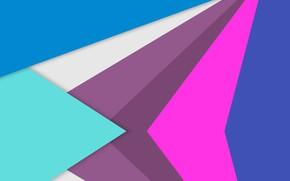 Обои геометрические, фигуры, цветные
