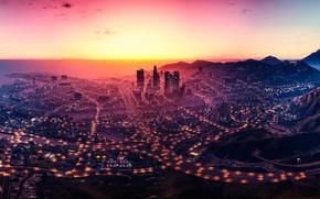 Картинка city, game, landscape, Grand Theft Auto V, GTA V, GTA 5