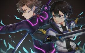 Картинка sword, game, weapon, anime, ken, blade, asian, manga, japanese, Sword Art Online, Kirito, Kirigaya Kazuto, …