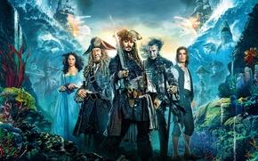 Картинка Johnny Depp, Jack Sparrow, Пираты Карибского Моря:, Pirates Of The Caribbean: Dead Men Tell No …