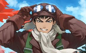 Картинка anime, pilot, japanese, seifuku, guardian, drifter, mahou, Drifters, Nippon, Nihon