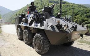 Картинка weapon, armored, military vehicle, armored vehicle, armed forces, military power, war materiel, 128
