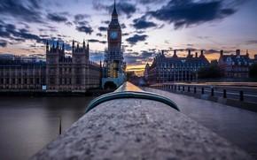 Картинка небо, город, London