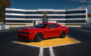 Картинка Dodge, Challenger, SRT, Demon, 2017