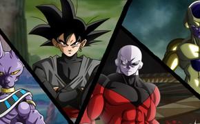 Картинка game, alien, anime, martial artist, manga, god, Dragon Ball, strong, Freeza, Dragon Ball Super, japonese, …