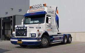 Картинка Scania, V-8, T-142H