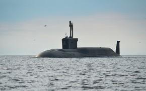 Картинка подводный, крейсер, атомный, проект 955, юрий долгорукий