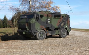 Картинка weapon, truck, armored, stand, 004, military vehicle, armored vehicle, armed forces, military power, war materiel, …