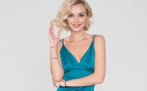 Картинка улыбка, певица, Полина Гагарина