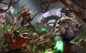 Обои battle Art, Total war warhammer 2, Skaven