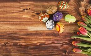Картинка Пасха, Яйца, Фон, Праздник
