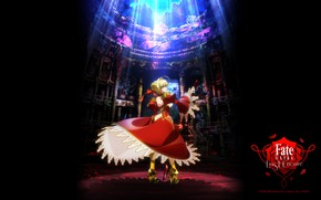 Картинка девушка, аниме, сейбер, Fate / Stay Night