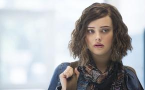 Обои tv seies, Katherine Langford, Netflix, 13 Reasons Why, girl