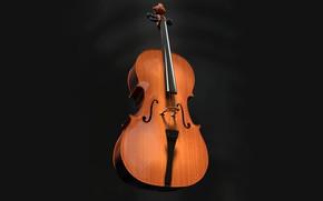 Картинка музыка, виолончель, инструмент