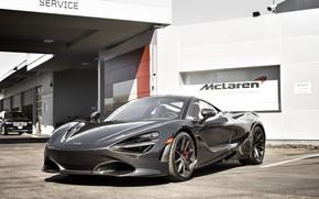 Обои McLaren, Black, Zenith, 720S