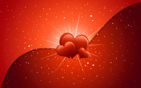 Картинка сердце, открытка, День Святого Валентина