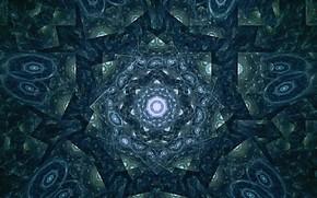 Картинка Синий, Узор, Голубой, Синие тона