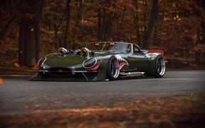 Картинка Concept, Jaguar, E-Type, Power, Turbo, by Khyzyl Saleem