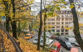 Обои Осень, Швейцария, Fall, Листва, Switzerland, Autumn, Женева, Листопад, Leaves, Geneva