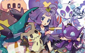 Картинка Девочка, Покемон, Pokemon, Покемоны