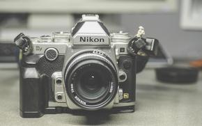 Картинка фотоаппарат, Nikon, объектив