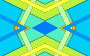 Картинка геометрия, заставка, яркая