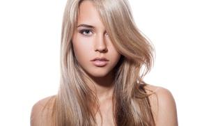 Картинка model, look, blonde, hairstyle