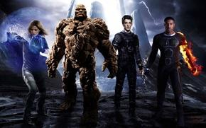 Картинка cinema, movie, hero, film, Fantastic Four, yuusha, by sachso74