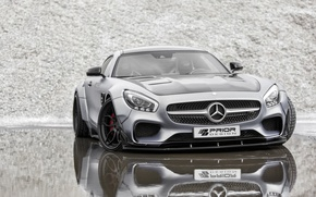 Картинка купе, Mercedes-Benz, Mercedes, суперкар, мерседес, AMG, Coupe, Prior-Design, C190, PD800GT, GT-Class