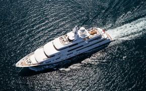 Картинка sea, superyacht, Titania, Motor Yacht