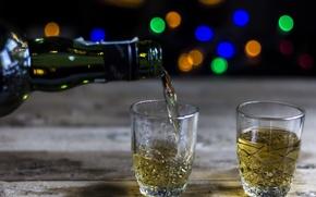 Картинка фон, бутылка, алкоголь, за тех кто в море