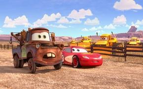 Картинка car, Cars, animated film, farm, animated movie, Cars Toons Mater's Tall Tales