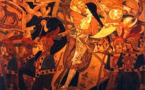 Картинка 1896, Джон, шотландская гвардия, Дункан, Жанна д'Арк и ее
