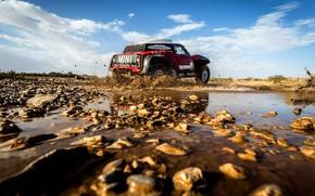 Картинка Вода, Mini, Спорт, Лужа, Брызги, Rally, Dakar, Дакар, Ралли, Buggy, Багги, X-Raid Team, MINI Cooper, …