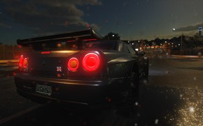 Картинка car, GTR, USA, game, The Crew, Vermont, Green Mountain State