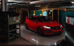 Картинка Honda, Civic, Type R, Pickup Truck