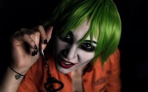 Картинка Joker, cosplay, portrait