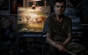 Картинка картина, художник, кисть, Дмитрий Киричай